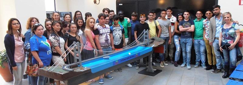 Catania, studenti Eris in visita al polo tattile Borges