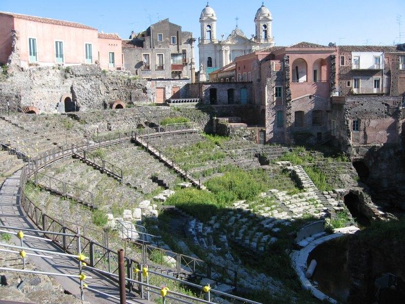 Si rilancia al teatro greco-romano di Catania: apertura agli spettacoli
