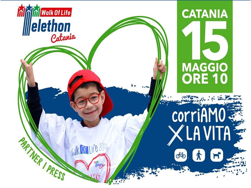 La Walk of Life alla sua quinta edizione: Catania passeggia per Telethon