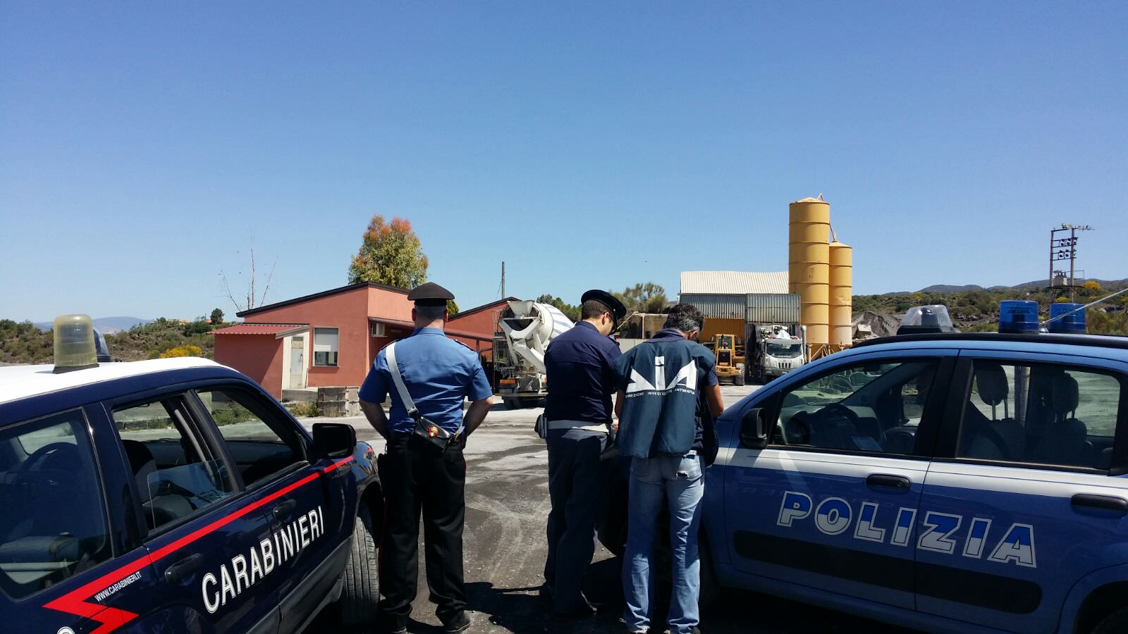Antimafia, sequestrato impianto calcestruzzi nel Catanese