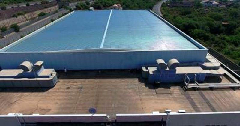 Palacannizzaro, risolto il problema infiltrazioni: istallato nuovo tetto