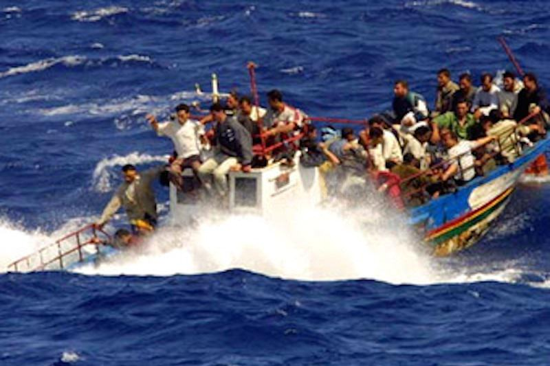 Trentadue migranti fermati nella riserva naturale di Vendicari