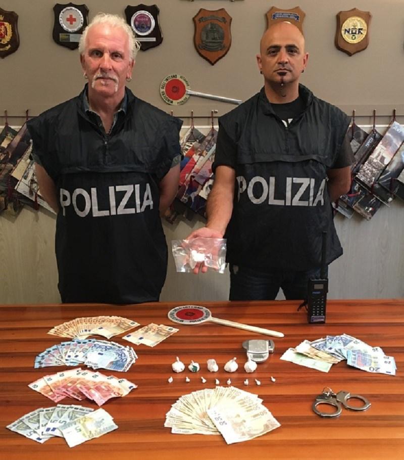 Palermo, arrestato spacciatore di 32 anni con oltre 100 grammi di cocaina