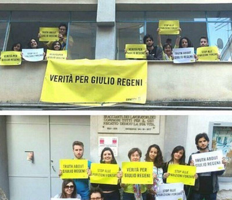 """""""Verità per Giulio Regeni"""", la Cgil di Bagheria aderisce alla campagna Amnesty"""