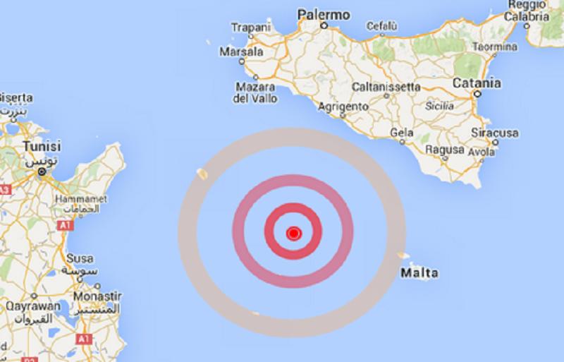 Tremano Lampedusa, Malta e Linosa: per fortuna nessun danno