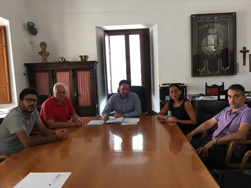 """Acireale, il nuovo dg Marletta incontra il sindaco: """"Obiettivi comuni"""""""