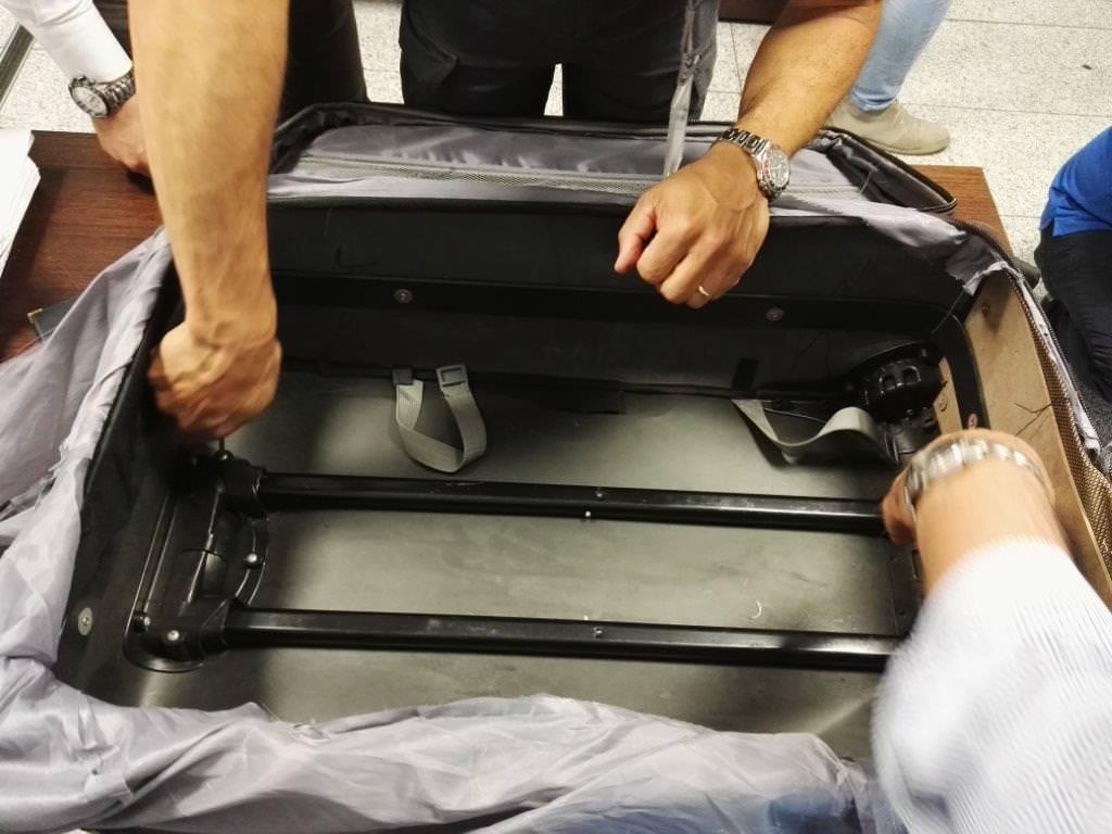 Aeroporto di Catania, arrestato corriere di eroina per oltre 150 mila euro