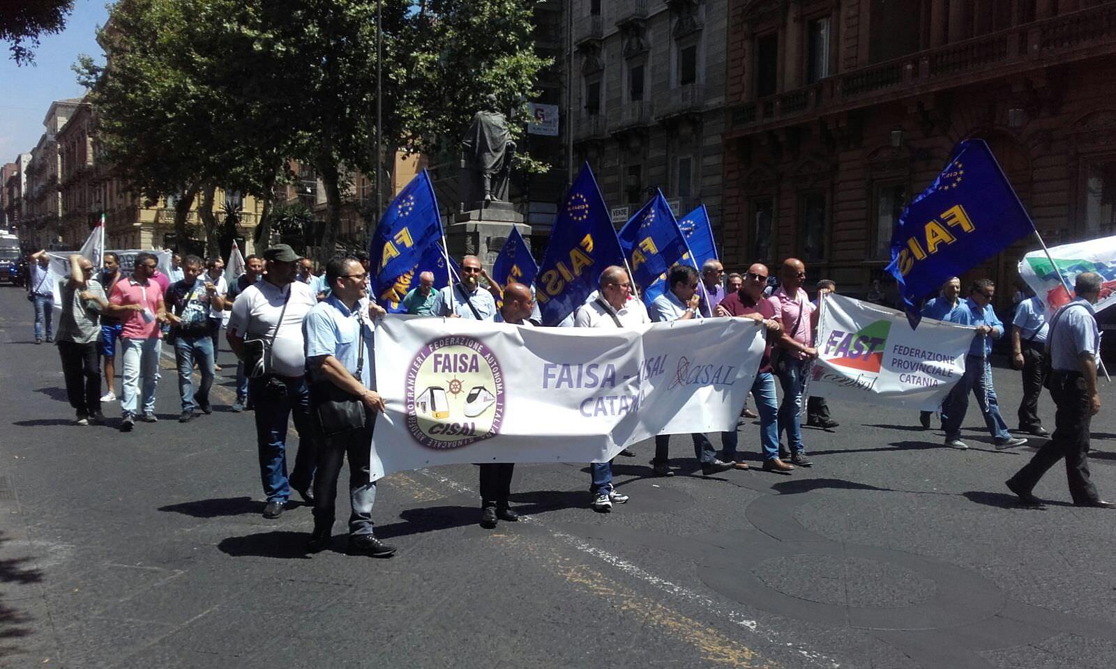 """Catania paralizzata per lo sciopero Amt, Lo Schiavo: """"Lavoratori compatti"""""""