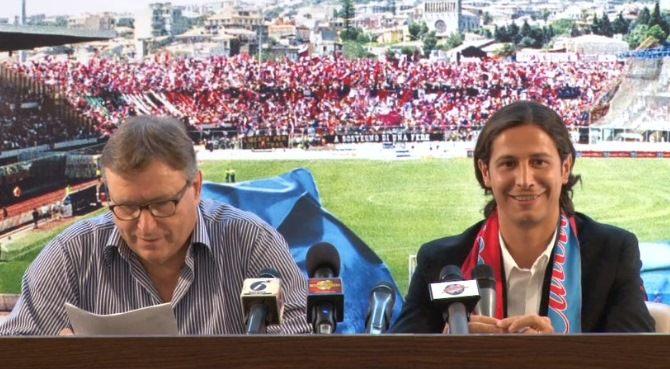 """Catania, Lo Monaco presenta Biagianti: """"Emozionato di essere di nuovo qui, molto legato a questa città"""""""