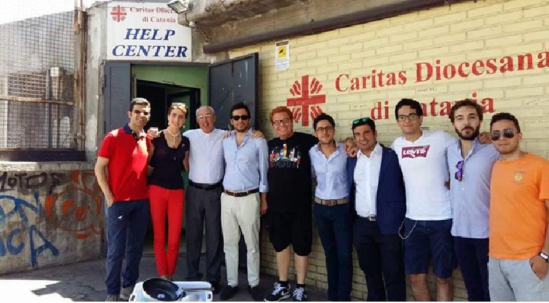 #WeServe: Axada, Leo Club e Rotaract insieme per la Caritas di Catania