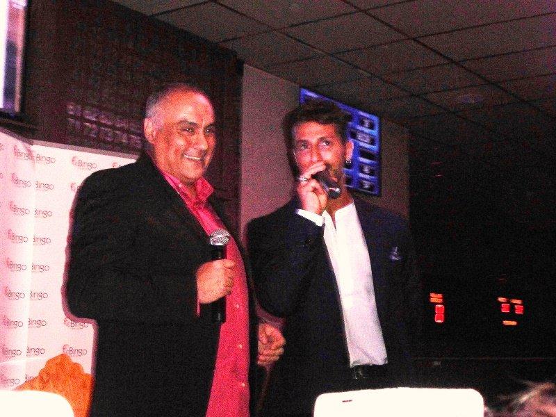 Fabrizio Corona ospite nella sala Bingo di Misterbianco