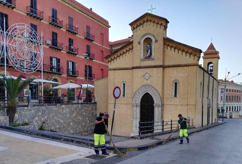 Agrigento, servizi straordinari di pulizia per la festa di San Calogero