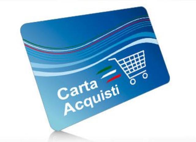 Amazon carta per acquisti