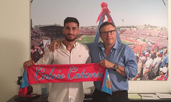 Catania, firma lo spagnolo Martinez. In arrivo anche Nava e Forgacs