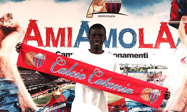 Catania, tesserato il difensore David Mbodj
