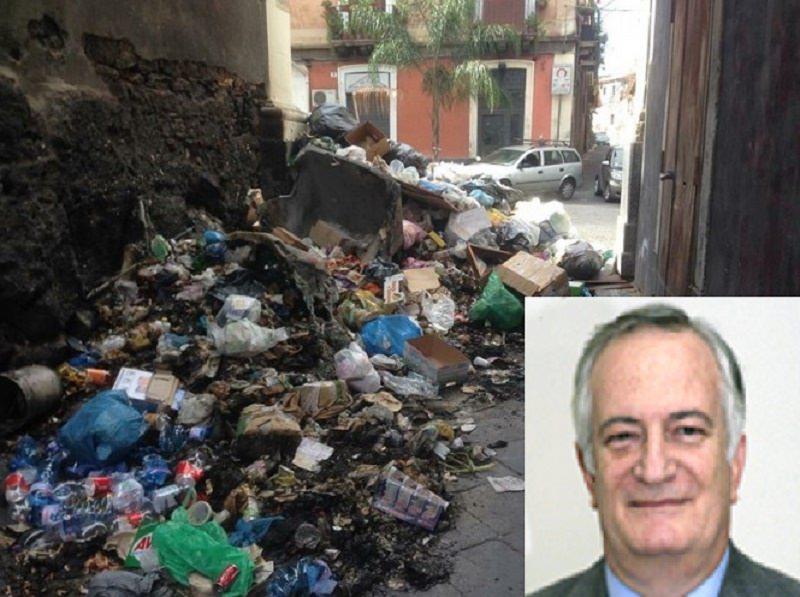"""Emergenza rifiuti a Catania, l'assessore D'Agata: """"Nessun allarme, siamo all'opera"""""""