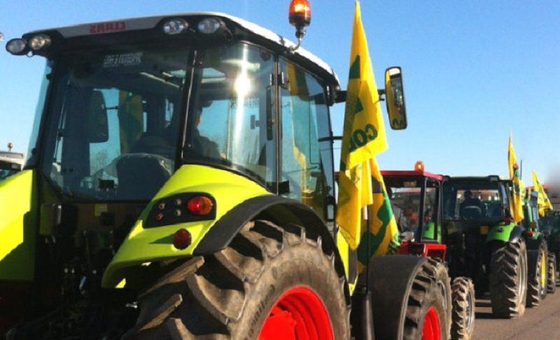 Trattori in città per la difesa del grano italiano