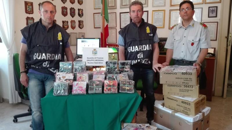 Sequestri e verbali nel Messinese contro contraffazione, lavoro e affitti in nero