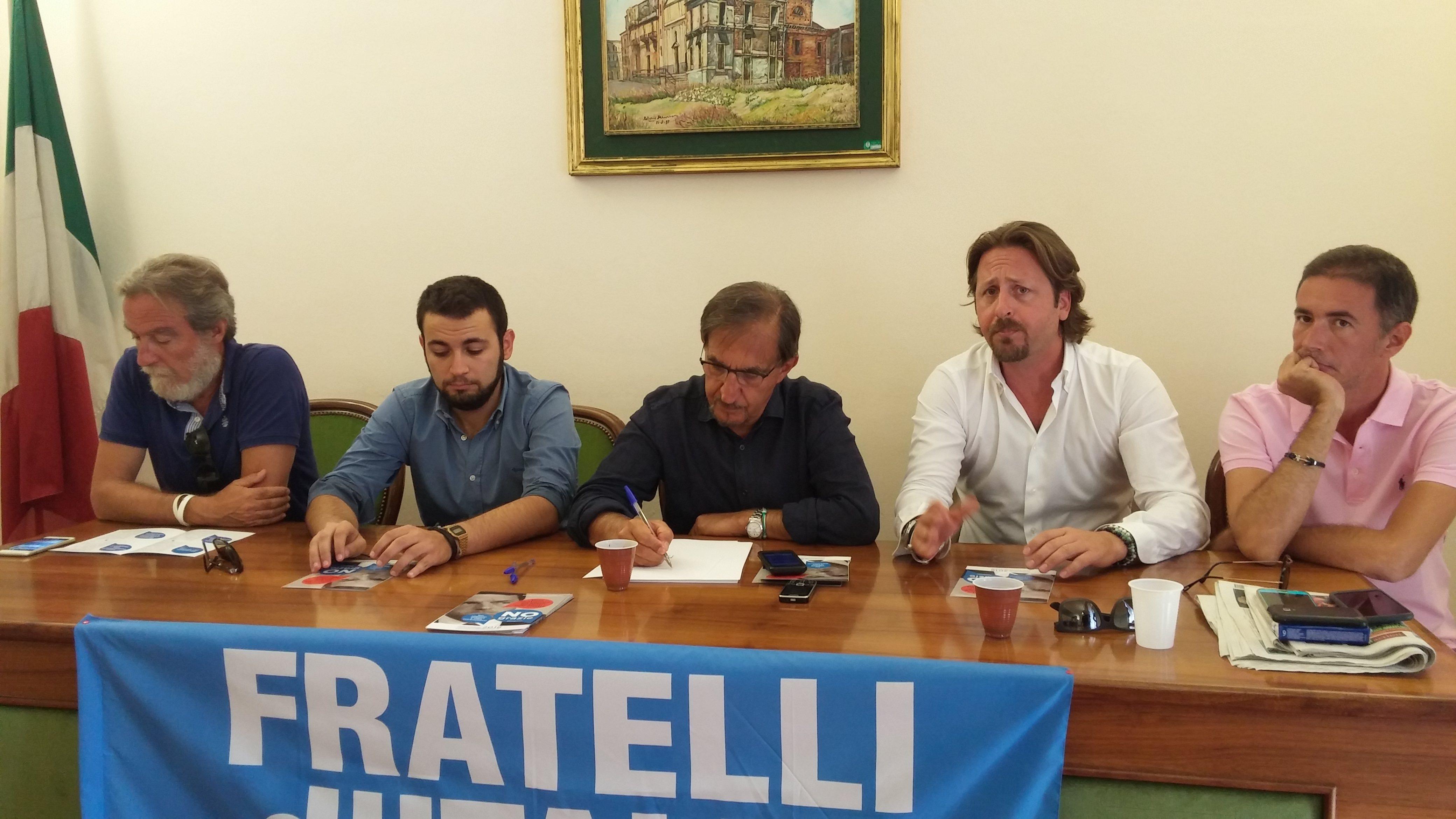 """La """"marcia"""" del centro destra per il """"No"""" al referendum: avvio oggi da Catania"""