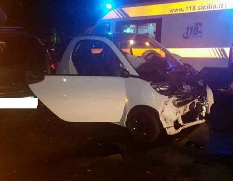 Incidente nella notte a Palermo, tre feriti