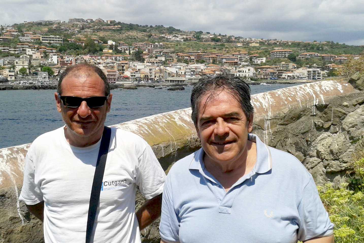 Visita del sindaco Bianco all'Isola Lachea