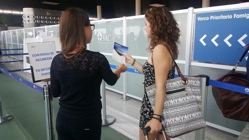Al via campagna informativa sulla sicurezza aeroportuale a Catania
