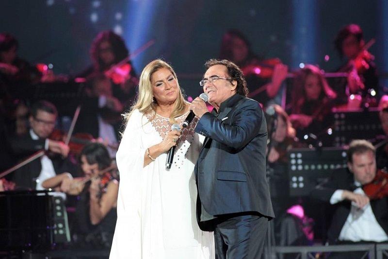 Al Bano e Romina Power domani sera insieme al Teatro Antico di Taormina