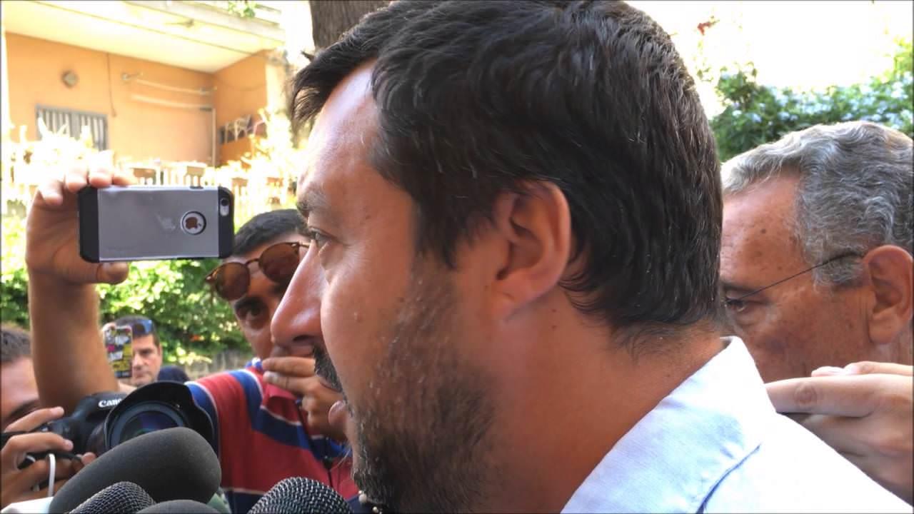 Oltre 500 agenti blindano Catania, Matteo Salvini è arrivato in Tribunale per l'udienza preliminare
