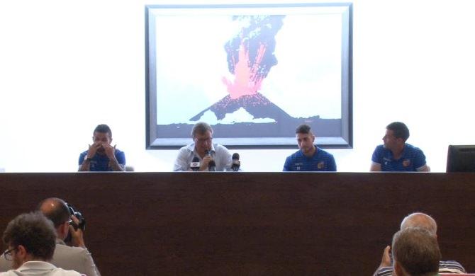 """Catania, l'entusiasmo di Bucolo, Scoppa e Piscitella: """"Siamo una famiglia, uniti per vincere"""""""