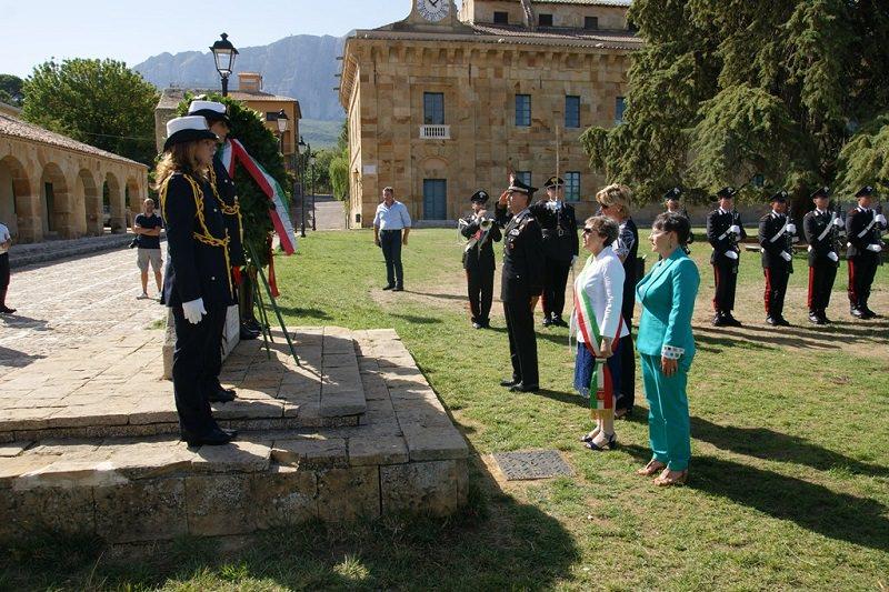 39 anni fa l'uccisione di Giuseppe Russo e Filippo Costa: deposta corona sul luogo