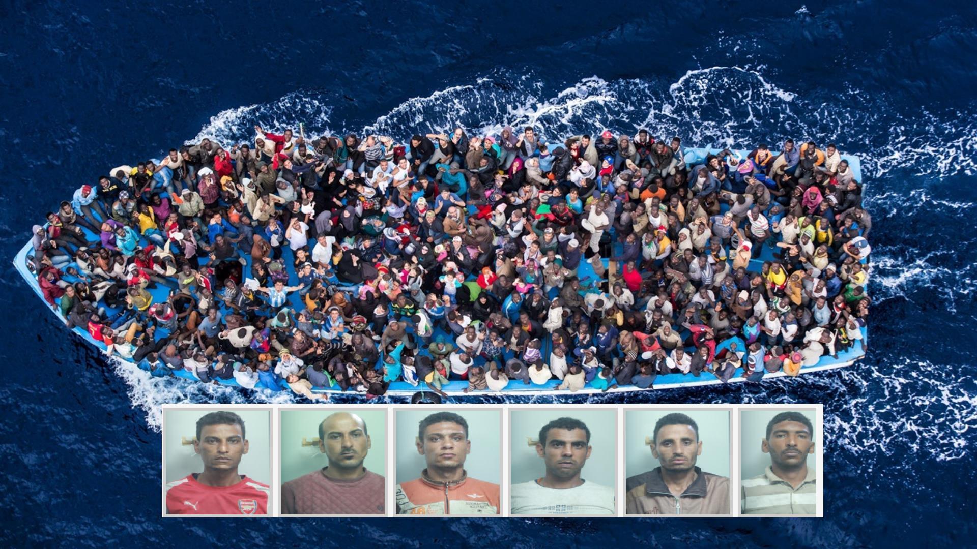 Fermati 6 scafisti egiziani per lo sbarco di 517 migranti al porto di Catania