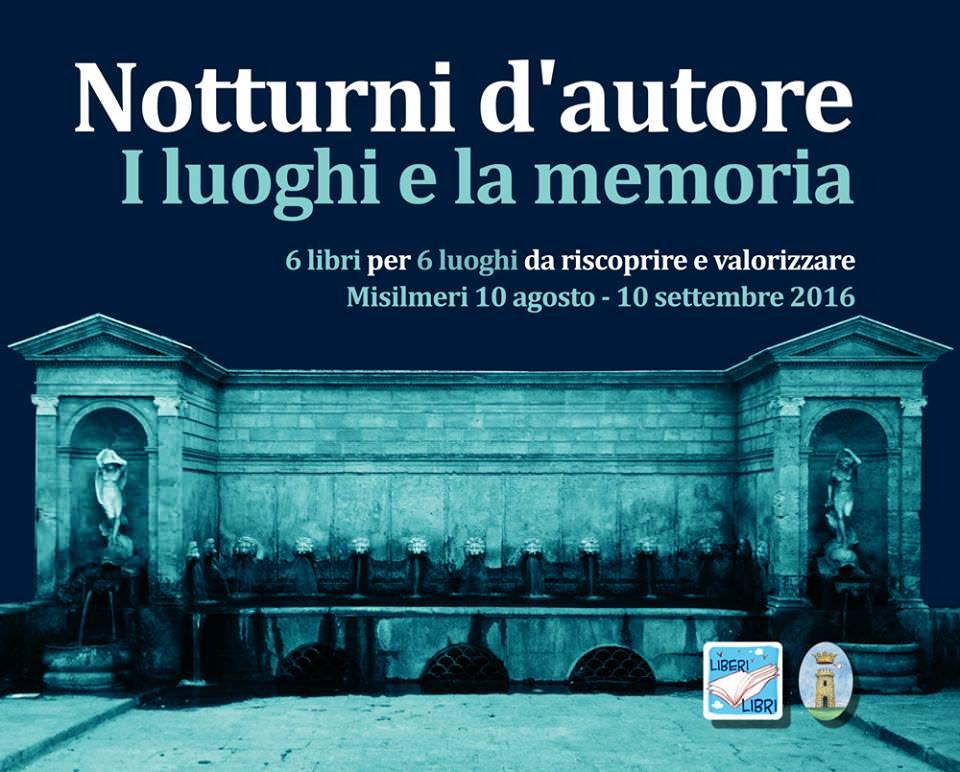 """Libri itineranti a Misilmeri, al via la prima edizione della rassegna letteraria """"Notturni d'autore"""""""