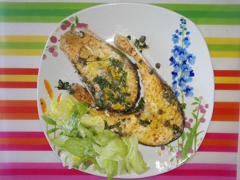 Ricetta del giorno:  salmone fresco al forno con pepe all'arancia