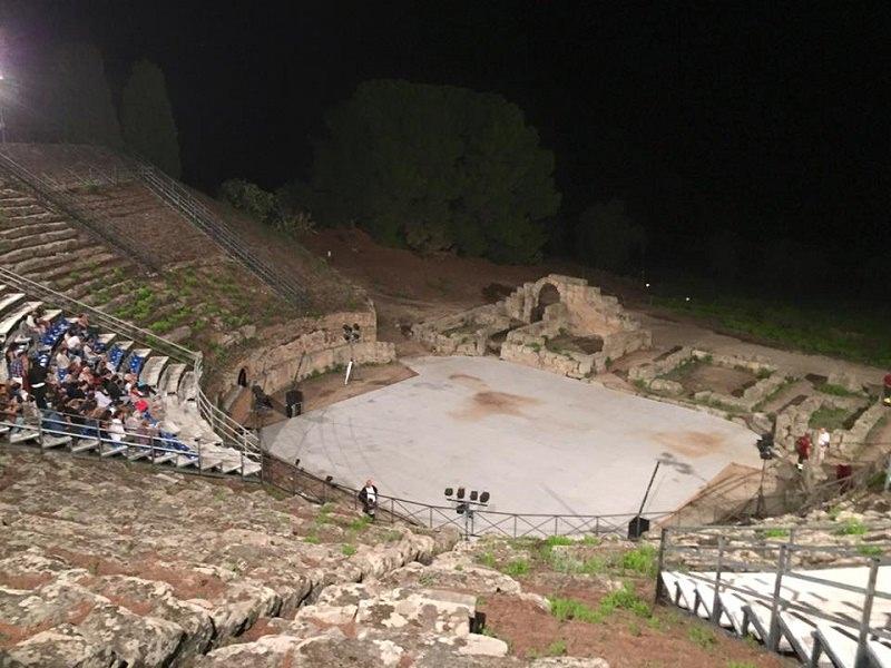 "Tindari, ""Echi del teatro greco"" domani in scena"