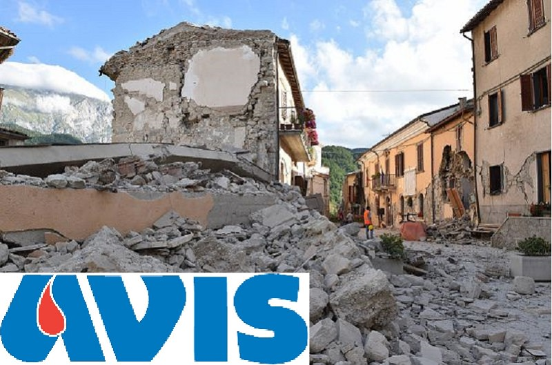 Terremoto: Avis Catania organizza raccolta di sangue domani all'aeroporto