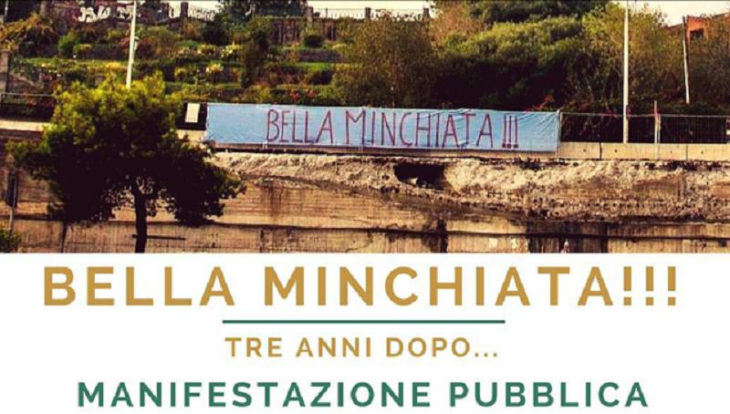 Tondo Gioeni 3 anni dopo l'abbattimento del ponte: manifestazione con Giorgia Meloni