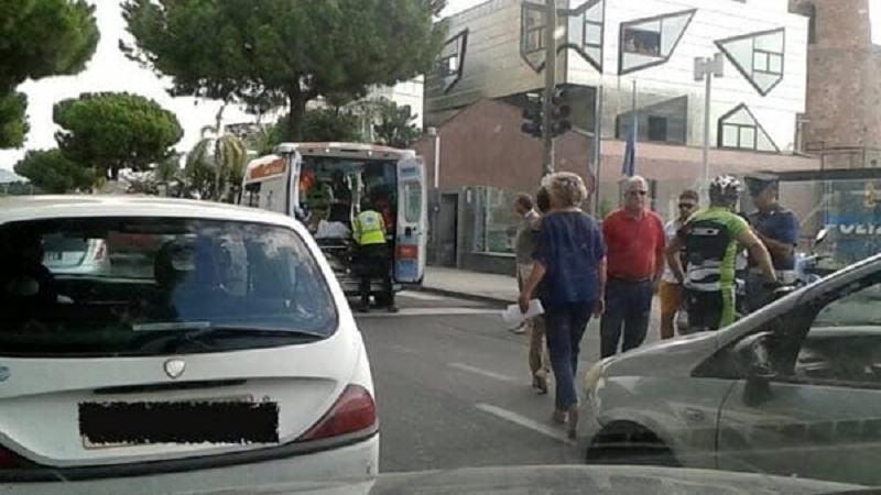 Catania, incidente in viale Africa: feriti dei ciclisti