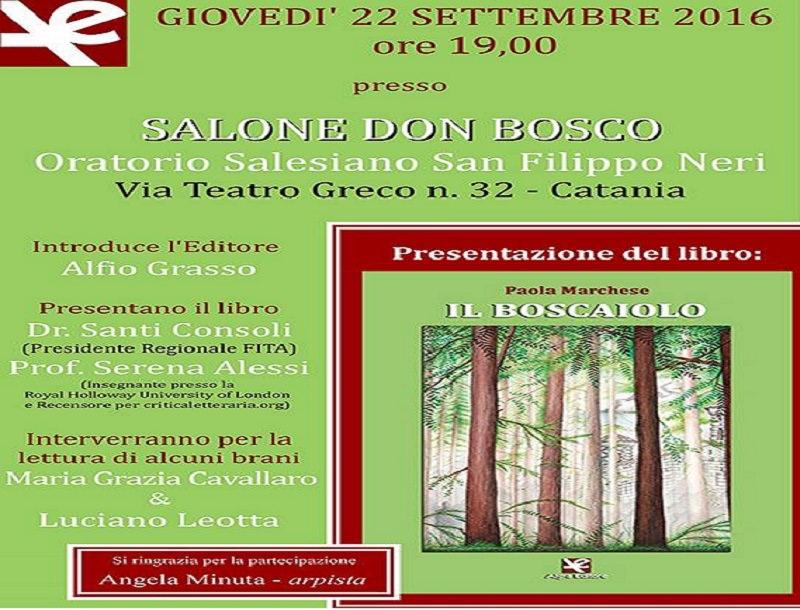 """""""Il Boscaiolo"""", il primo romanzo di Paola Marchese"""