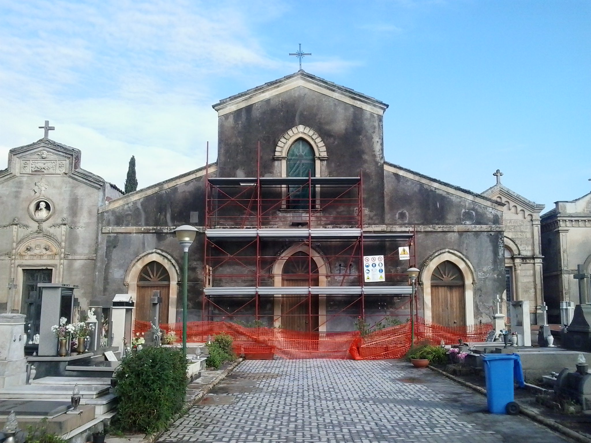 A novembre di nuovo fruibile la Cappella Cimiteriale di San Gregorio