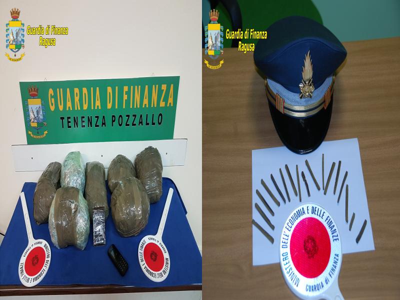 Lotta allo spaccio: tre arresti tra Vittoria e Pozzallo