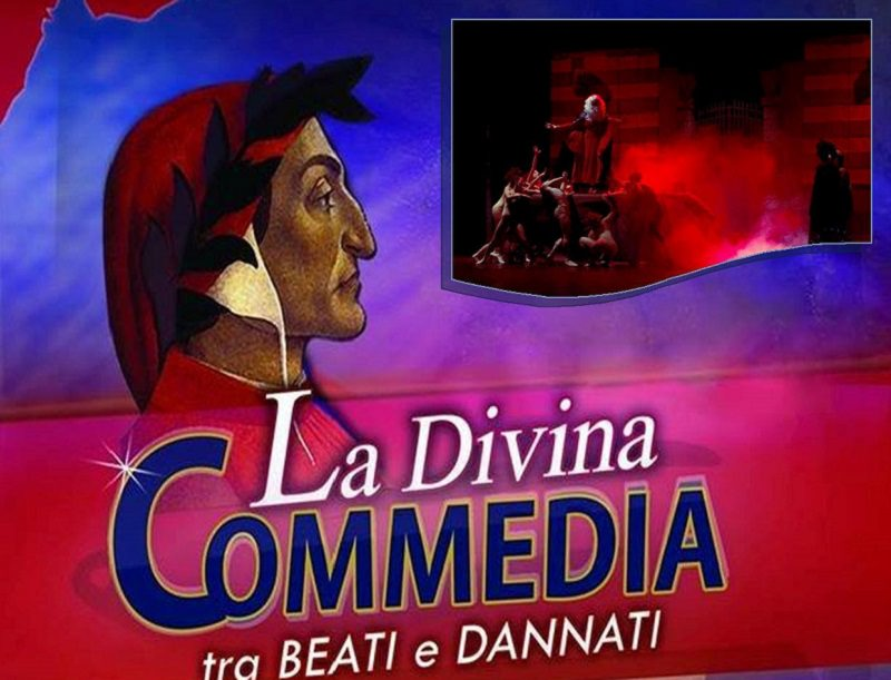 """""""La Divina Commedia-Tra beati e dannati"""": al via la seconda edizione del musical"""
