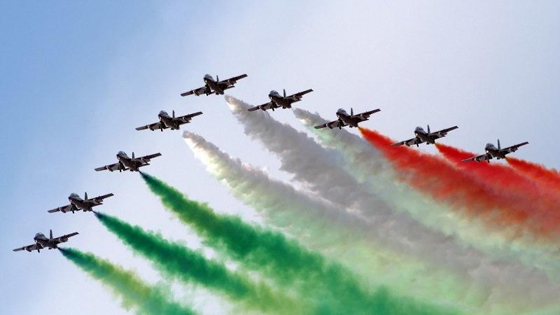 Donnalucata: Frecce Tricolori show nonostante il maltempo