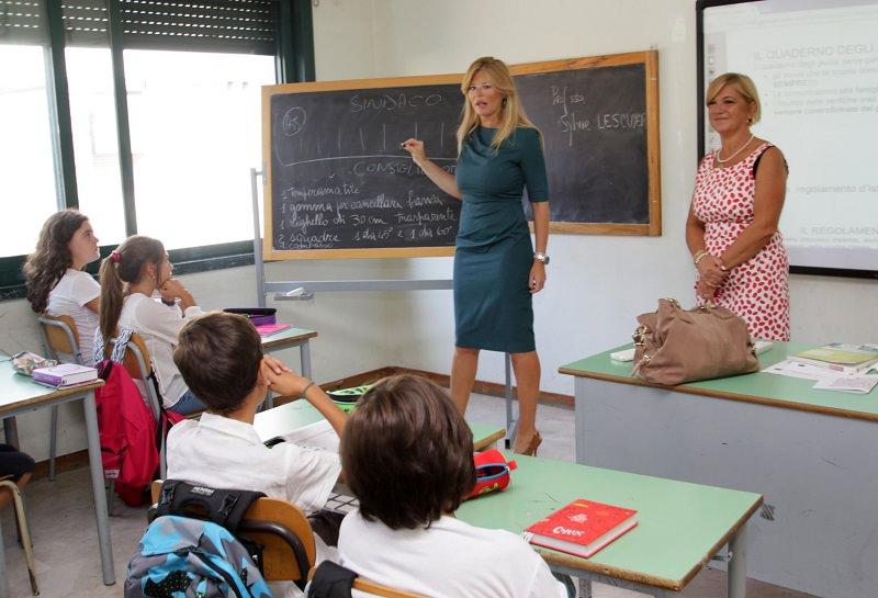L'inizio scolastico alla Cavour: presente anche l'assessore Scialfa