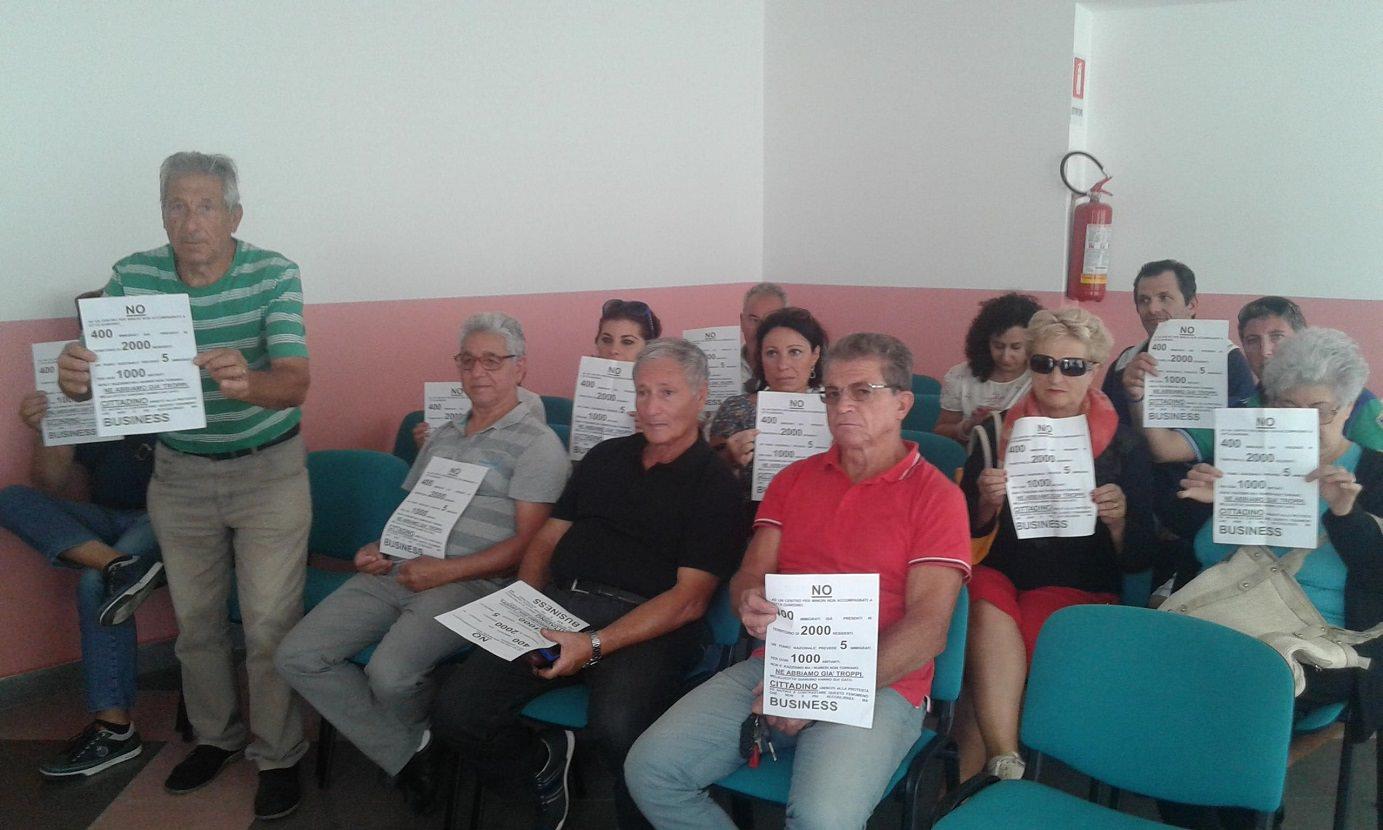 Cittadini di Città Giardino contro nuovo centro di accoglienza