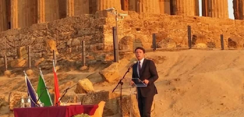"""Il G7 in Sicilia, Renzi: """"I potenti vedranno la bellezza della Sicilia"""""""