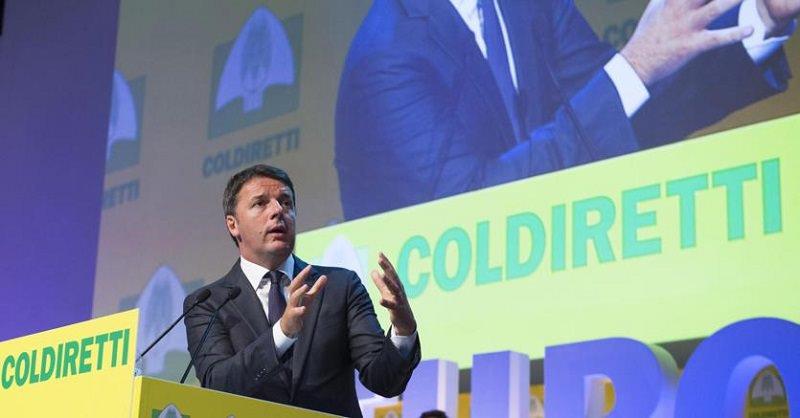 """Addio Irpef agricola dal 2017, Renzi: """"Stanziati 3 mld per gli investimenti"""""""