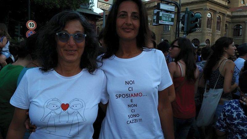 Palermo: Elisabetta e Serenella spose dopo 7 anni d'amore
