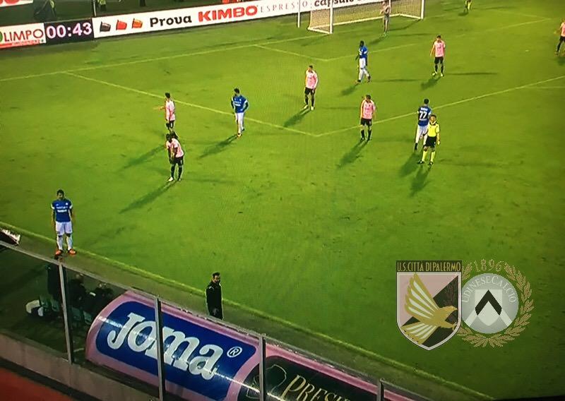 Palermo, ma dove sei finito? L'Udinese passeggia con un super Fofana