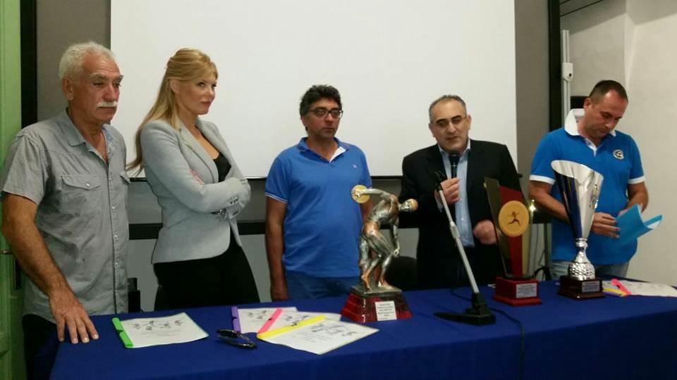 Presentati a Palazzo Platamone i Campionati Italiani di Pentathlon Lanci Master