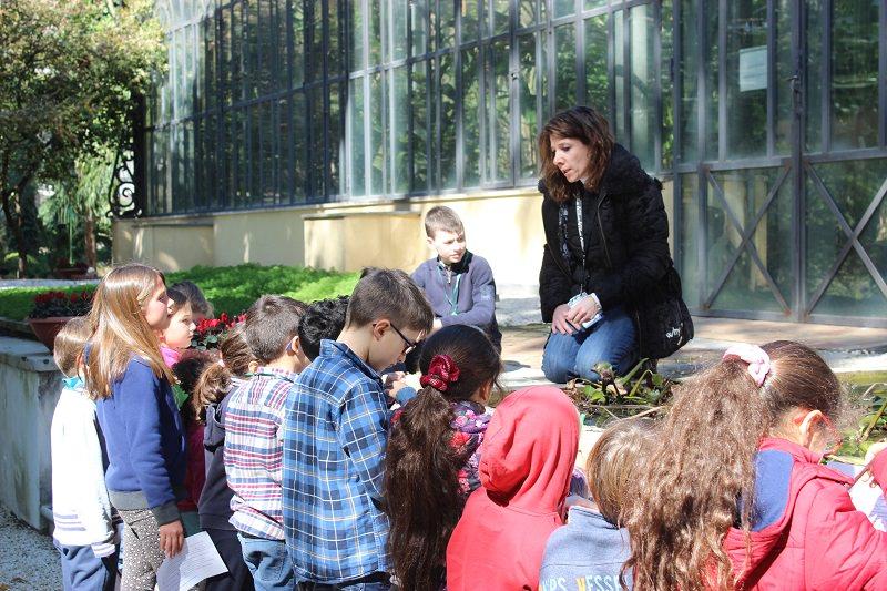 """""""Strega comanda piante"""": giovani esploratori all'Orto Botanico"""